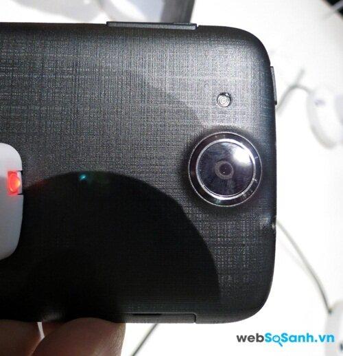 Camera chính điện thoại Liquid Jade Z được trang bị cảm biến 13MP