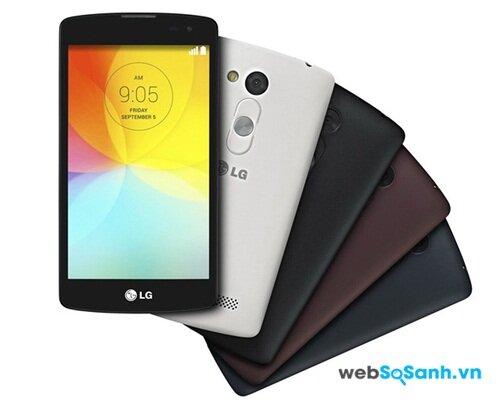 Điện thoại LG L Fino sử dụng thiết kế của LG G3