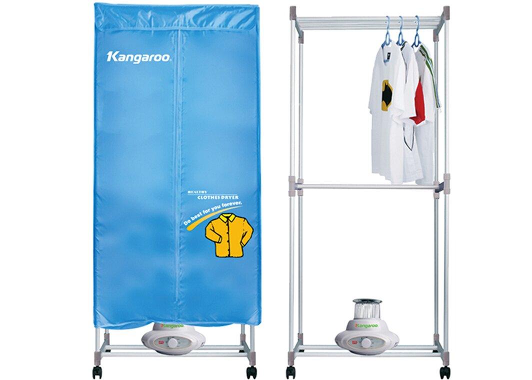 Máy sấy áo quần Kangaroo rất dễ sử dụng