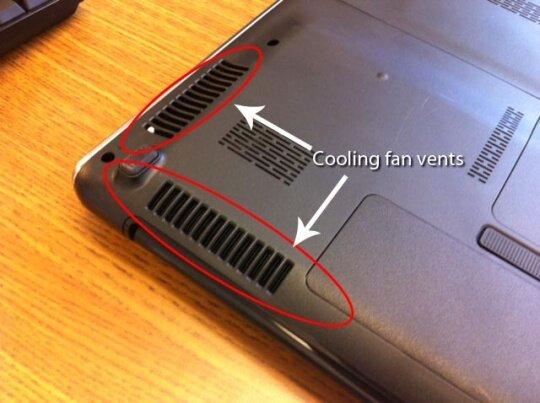 Máy nóng khiến quạt tản nhiệt luôn làm việc hết công suất