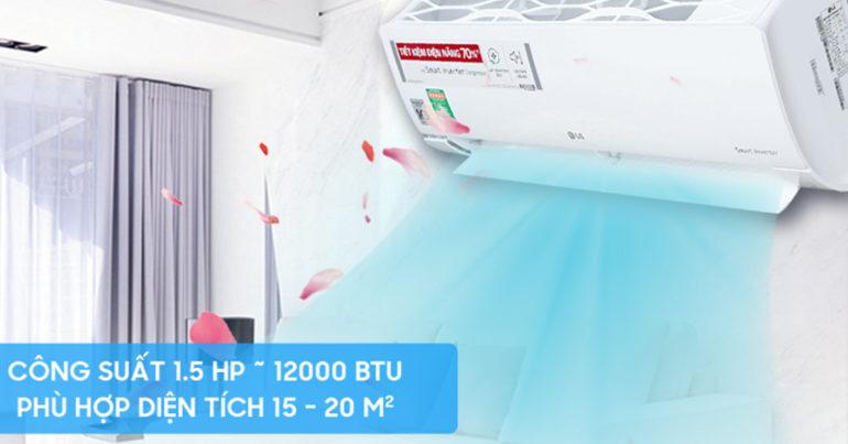 Có nên chọn điều hòa 12000btu thay vì 9000btu cho phòng 15m2 không ?