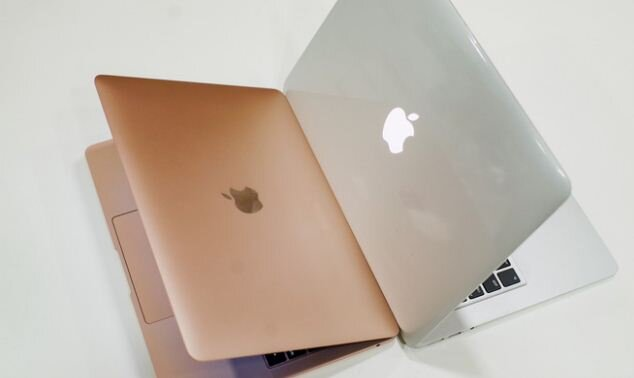 So sánh laptop Apple Macbook air 2018 và 2017