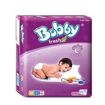 Tã dán Bobby Fresh siêu thấm size M 28 miếng (trẻ từ 6 - 10kg)