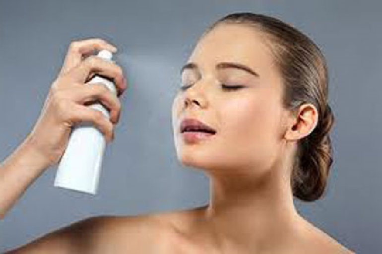 Xịt khoáng có tác dụng ngăn ngừa lão hóa da