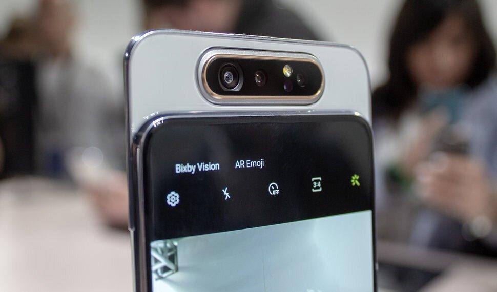 Camera của Samsung Galaxy A80 lấy nét nhanh, xóa phông cực thông minh