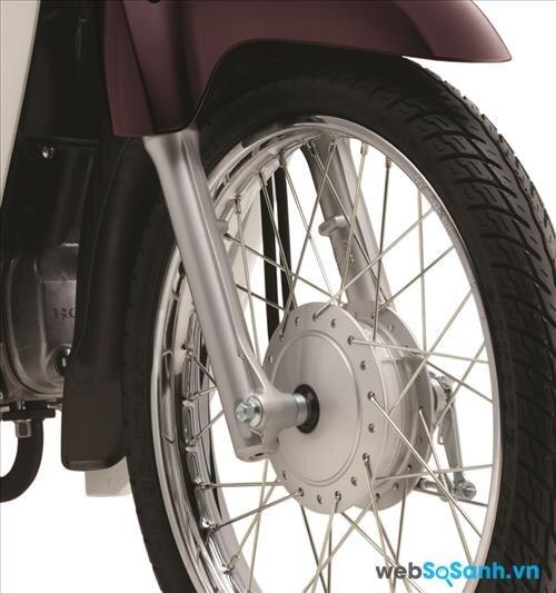 Hệ thống phanh tang trống trên xe Honda Dream