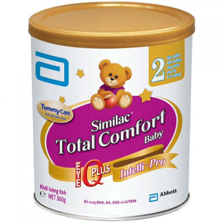Sữa Similac Total Comfort 2 dành cho bé (Nguồn: shop254cantho.com)