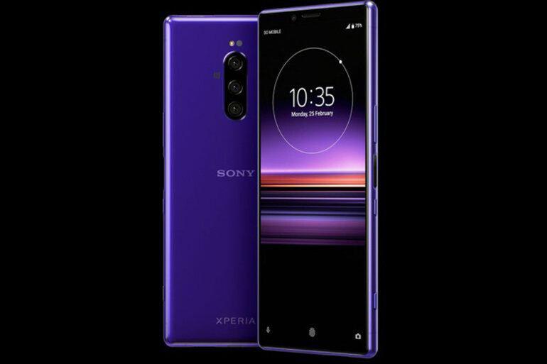 smartphone sony mới ra mắt