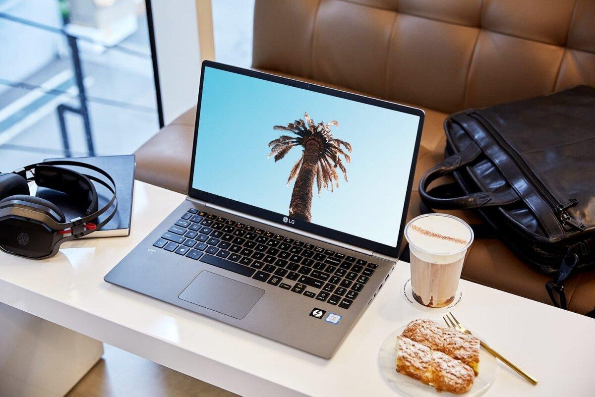 Dòng laptop LG Gram có thiết kế thông minh, tinh tế