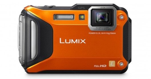 The Panasonic Lumix TS6 features built-in Wi-Fi and NFC for easy sharing, and GPS for geot...