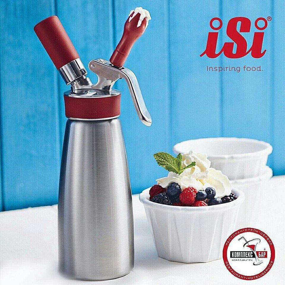 Bình xịt kem ISI - Một trong những sản phẩm chế biến thực phẩm tốt trên thể giới
