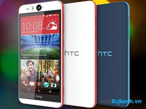 Điện thoại HTC Desire Eye chạy Android 4.4.4