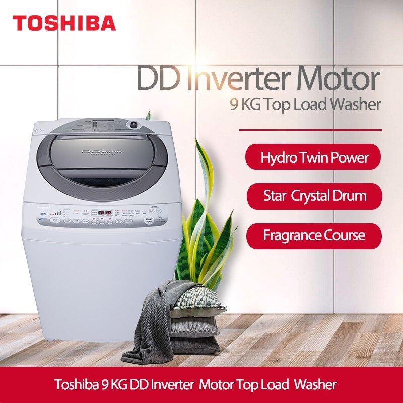 Thiết kế máy giặt lồng đứng là ưu điểm nổi bật của Toshiba (Nguồn: pico.vn)