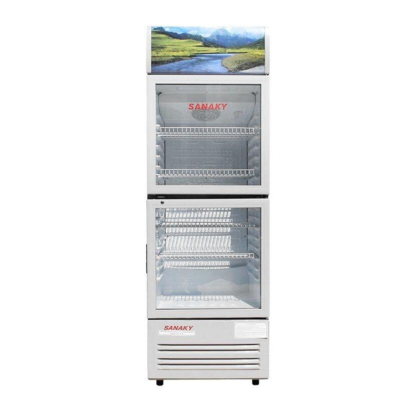 Tủ mát 2 cánh được sử dụng phổ biến cho cửa hàng thực phẩm