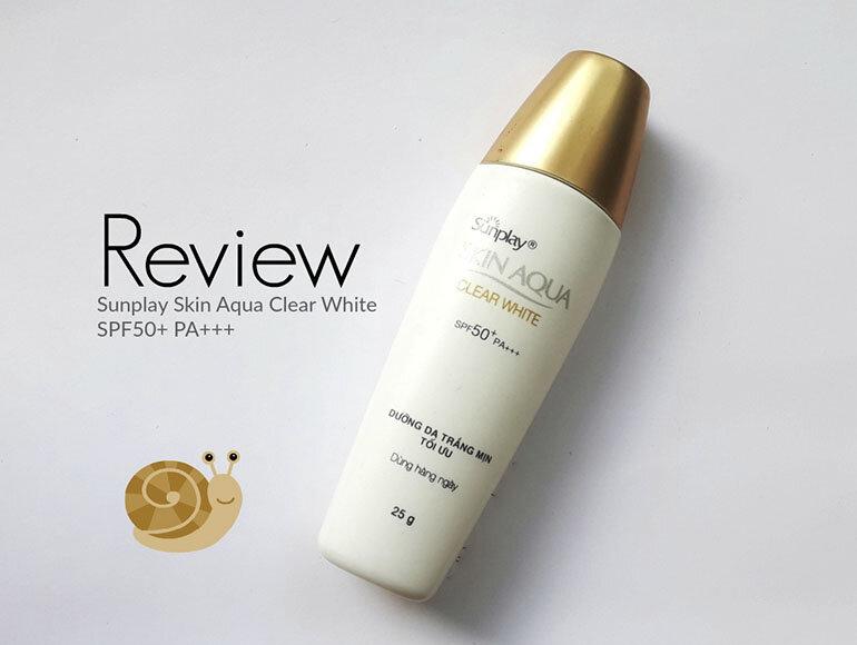 Kem chống nắng cho da nhạy cảmSkin Aqua Clear White SPF 50+ PA++++ dịu nhẹ và làm mát da đem lại cảm giác sảng khoái ngay lần đầu sử dụng