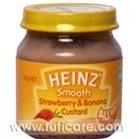 Thức ăn dặm trứng sữa dâu và chuối Heinz 110g