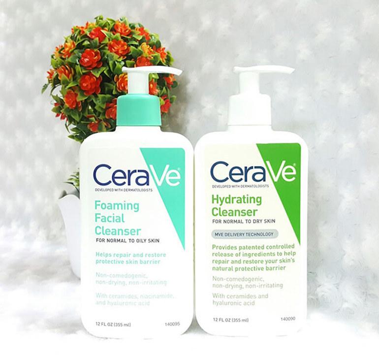 Công dụng của sữa rửa mặt Cerave 355ml