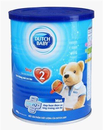 Sữa bột Dutch Lady Cô gái Hà Lan Step 1 - hộp 400g (hộp thiếc dành cho trẻ từ 0 - 6 tháng tuổi)