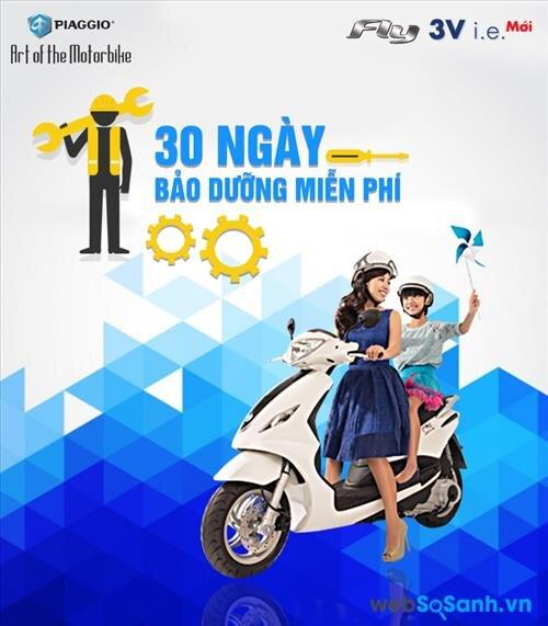 Piaggio đang thực hiện chương trình bảo dưỡng xe máy miễn phí