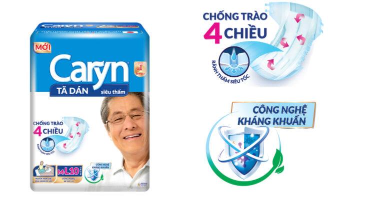 Bỉm Caryn - Giải pháp chăm sóc vệ sinh cho người lớn tuổi