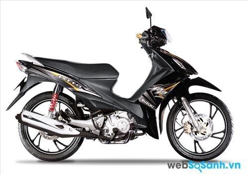 Mức giá 26,8 triệu của Suzuki Axelo được đánh giá là khá rẻ