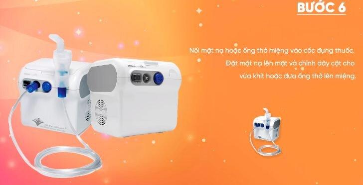 Hướng dẫn chi tiết cách sử dụng máy xông mũi họng Omron NEC29