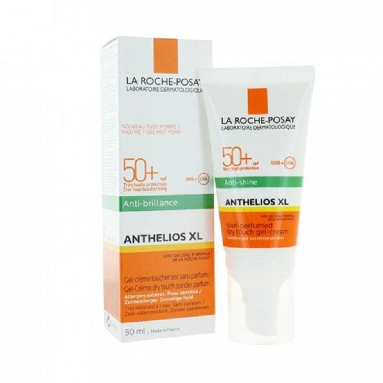 Kem chống nắng La Roche Posay Anthelios XL Anti Shine Dry Touch Gel-Cream