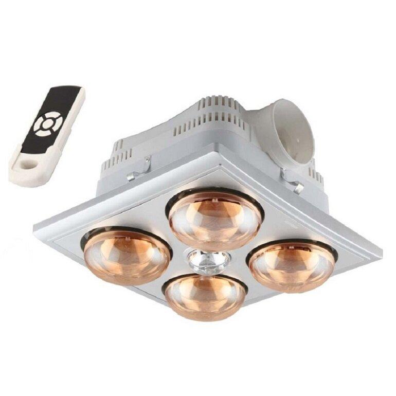Nhược điểm của đèn sưởi phòng tắm âm trần có điều khiển