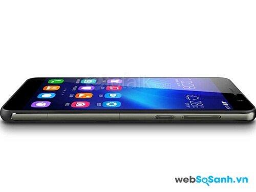 Huawei Honor 6 có màn hình độ phân giải cao, góc nhìn rộng