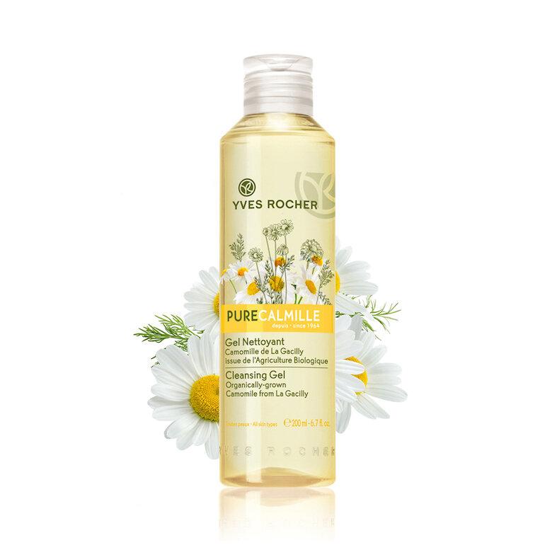 Sữa rửa mặt Hoa Cúc Yves Rocher Pure Calmille
