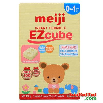 Sữa Meiji Thanh EZcube 432g (0-1 tuổi)