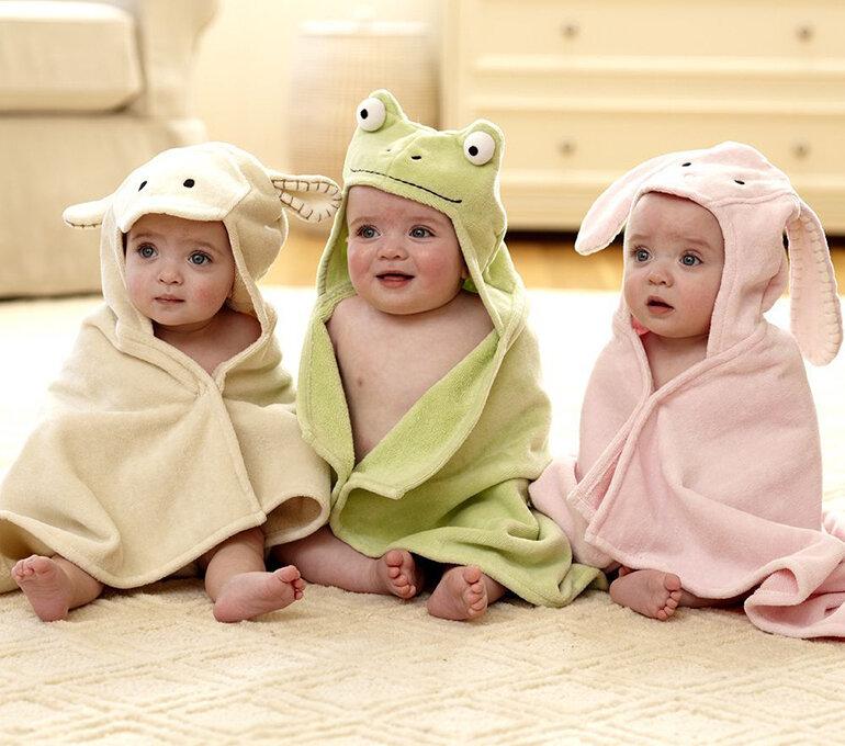 Khăn tắm hình thú được nhiều bà mẹ lựa chọn sử dụng hiện nay