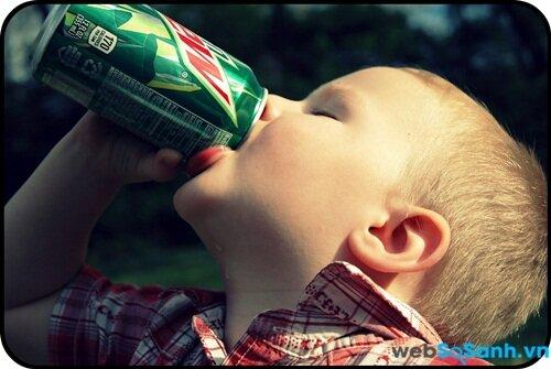 Trẻ nhỏ đang có xu hướng sử dụng đồ uống chứa caffein nhiều hơn
