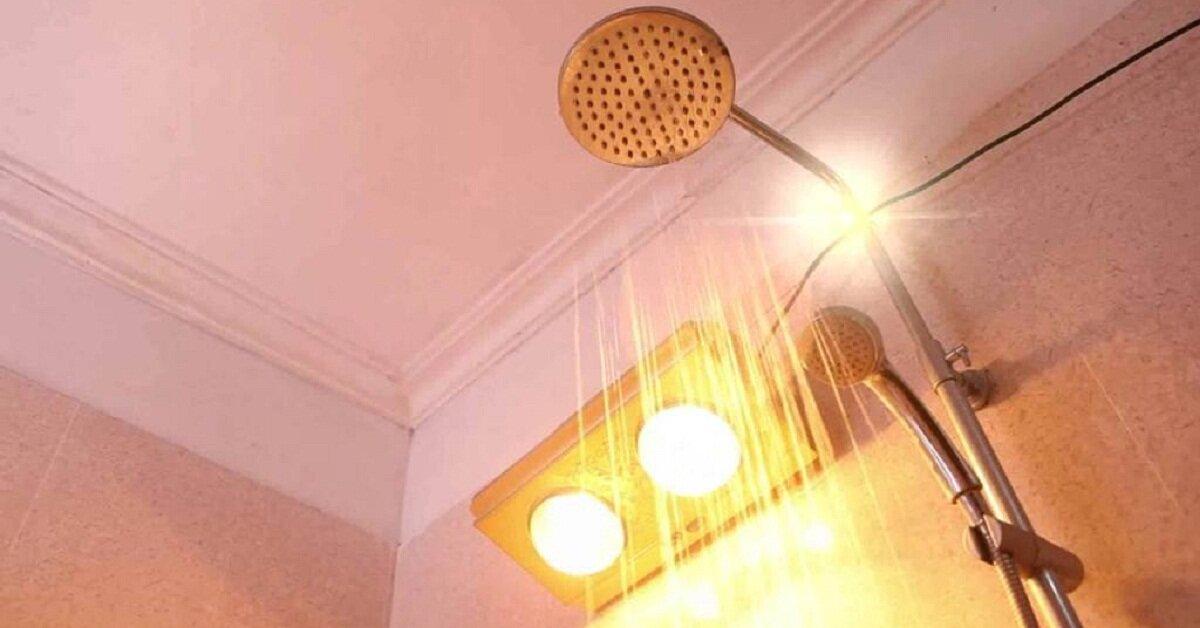 5 lưu ý quan trọng cần nhớ khi sử dụng đèn sưởi nhà tắm