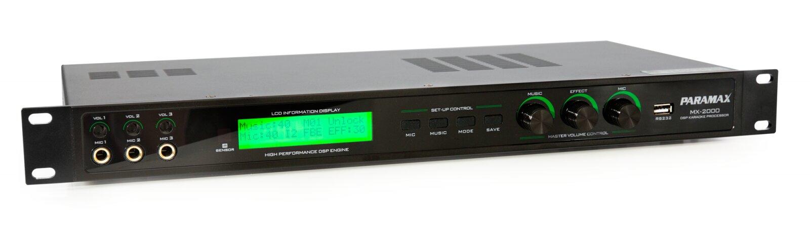 Vang số hay nhất Paramax MX-2000 có nhiều ưu điểm nổi bật