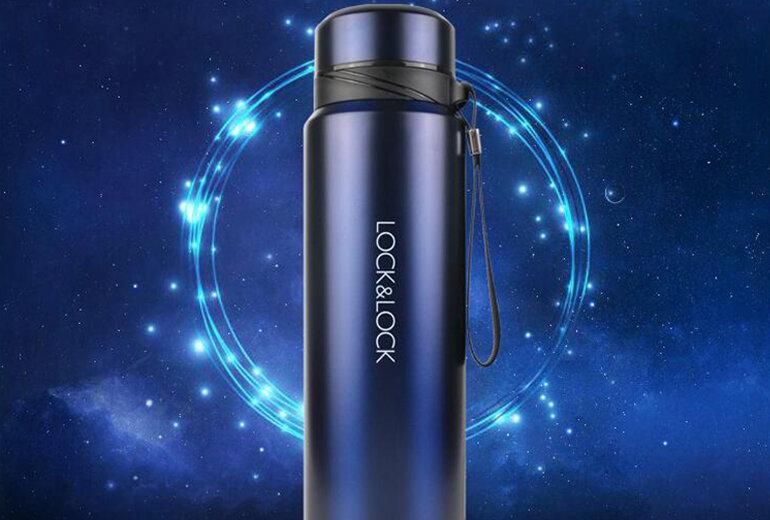 Bình giữ nhiệt thép không gỉ Vacuum Bottle Lock&Lock LHC6180FU 800ml - Giá tham khảo: 503.000 vnđ