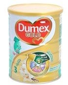 Sữa bột Dumex Gold 3 - hộp 400g (dành cho trẻ từ 1 - 3 tuổi)