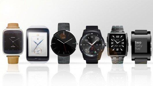 6 mẫu đồng hồ thông mình (Nguồn: Internet)