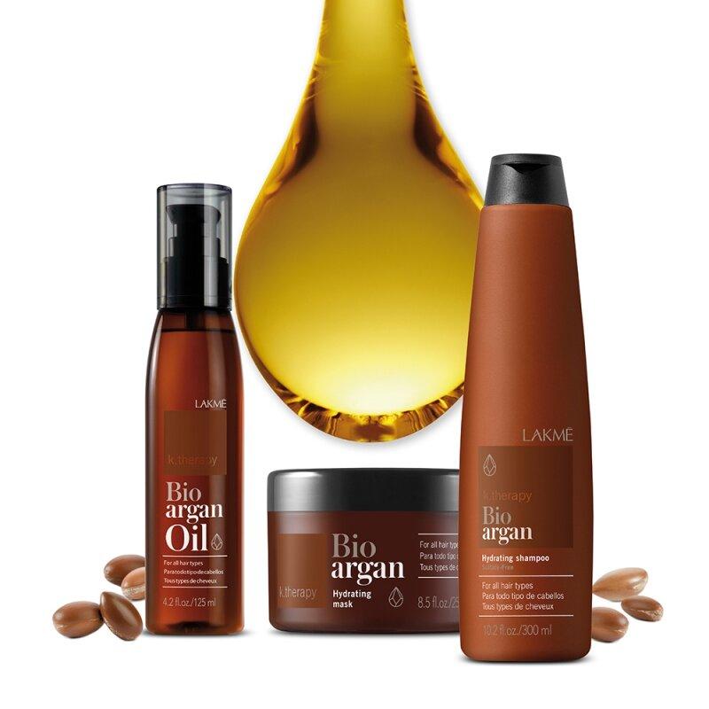 Tinh dầu Argan hữu cơ dưỡng tóc Lakme K.therapy Bio Argan Oil