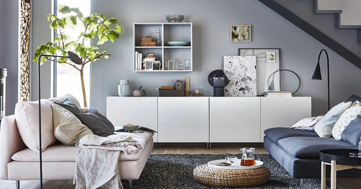 sử dụng nội thất cho phòng khách