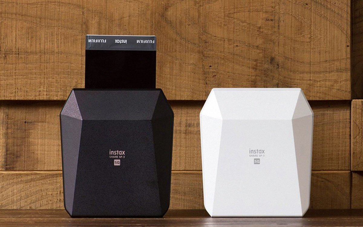 Thiết kế đẹp mắt, hiện đại của máy in ảnh mini hãng Fujifilm