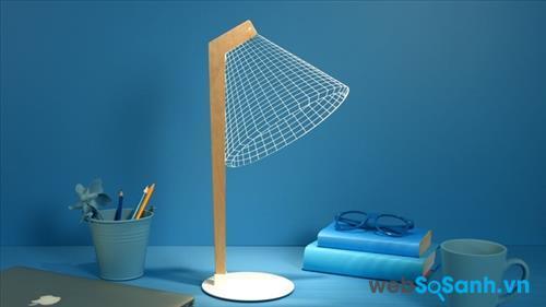 Chiếc đèn cho ánh sáng phù hợp với mọi không gian