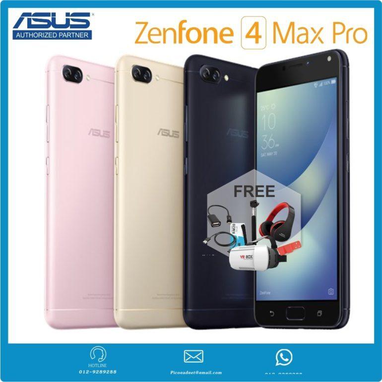 Điện thoại Asus Zenfone 4 Max Pro