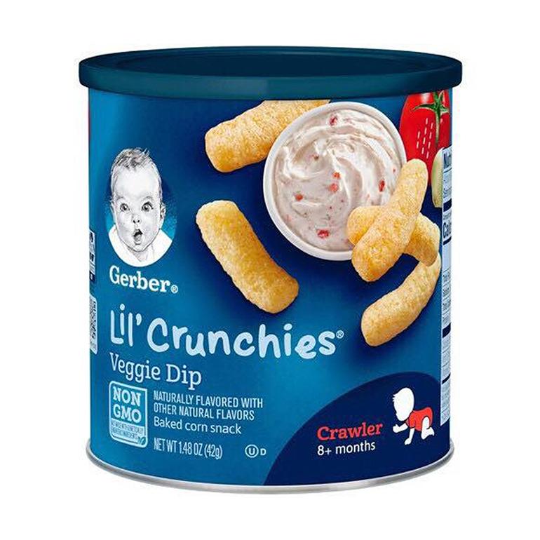 Bánh ăn dặm cho trẻ 8 tháng Gerber