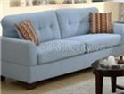 Sofa Băng Giả Da Màu Xanh B6