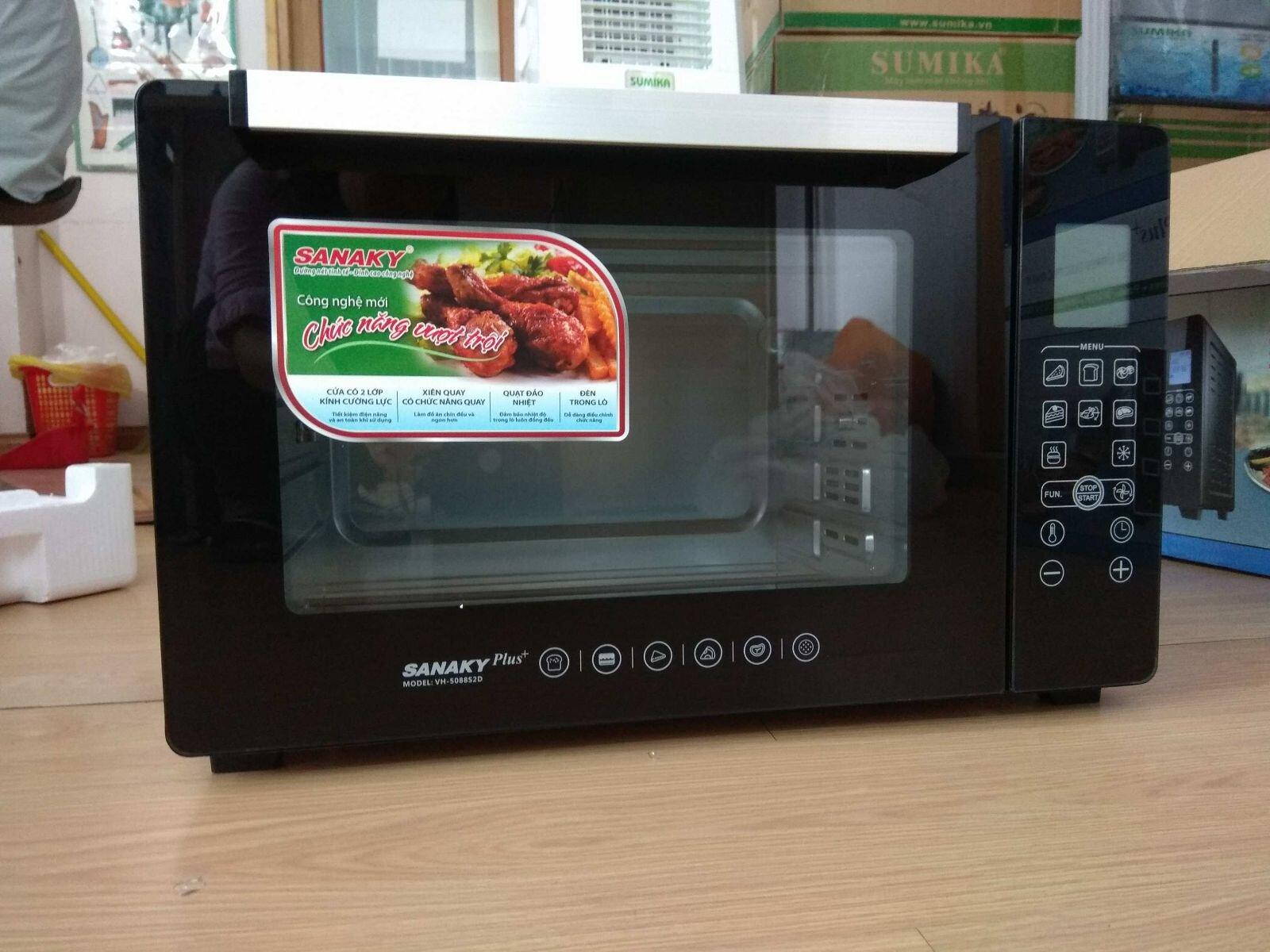 Lò nướng Sanaky VH-509 S2D 50l 2000W
