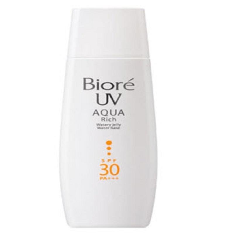 Kem chống nắng Biore Aqua rich Jelly Water Base Whitening SPF30 PA+++
