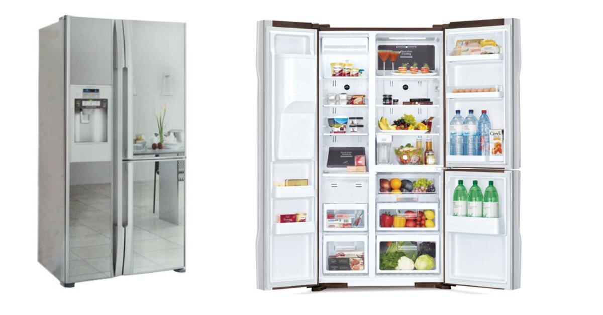 5 lý do nên chọn mua tủ lạnh SBS Hitachi R-M700GPGV2 (GS) - 584 Lít