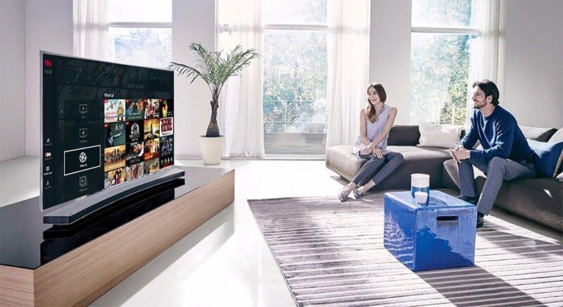 Fim+ - ứng dụng xem phim hấp dẫn trên Samsung Smart TV