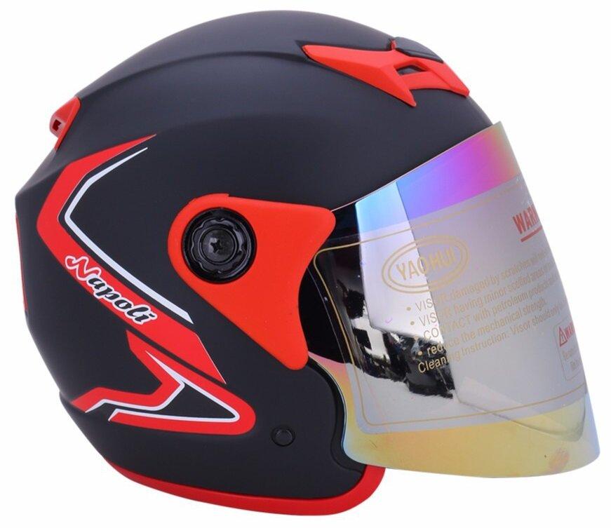 Mũ bảo hiểm Napoli Bọ cạp N039 có kiểu dáng năng động, khỏe khoắn và chắc chắn